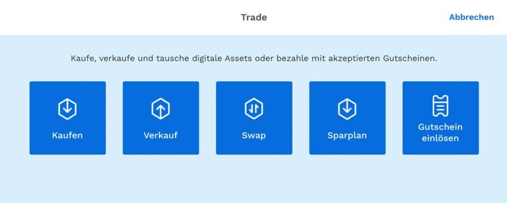 Bitpanda Trade Möglichkeiten