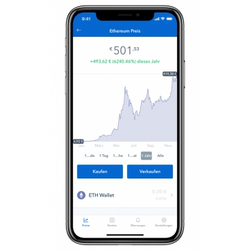 Coinbase iPhone iOS App