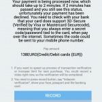 Changelly Zahlung mit Kreditkarte