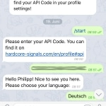 Hardcore Signals Telegram Bot
