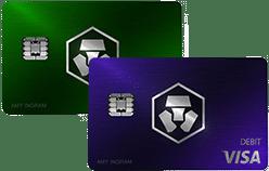 Royal Indigo oder Jade Green Kreditkarte