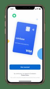 Coinbase Card Registrierung