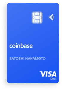Coinbase Visa Debit Kreditkarte