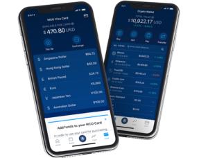 Crypto.com Krypto Bankkonto mit Kreditkarte