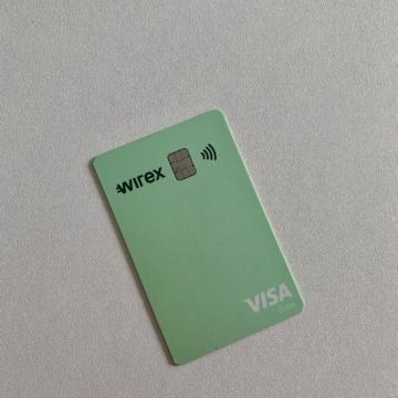 Wirex Visa Prepaid Kreditkarte
