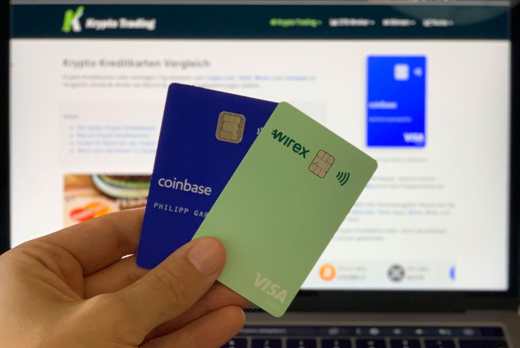 Krypto Kreditkarten Vergleich Visa & Mastercard
