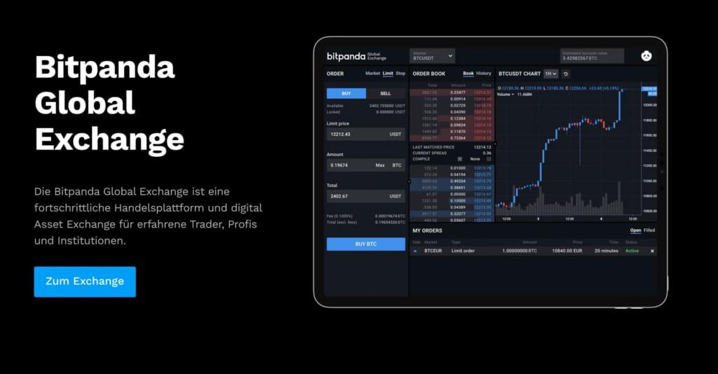 Bitpanda Global Exchange Live
