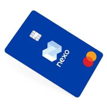 Nexo Krypto Mastercard Kreditkarte
