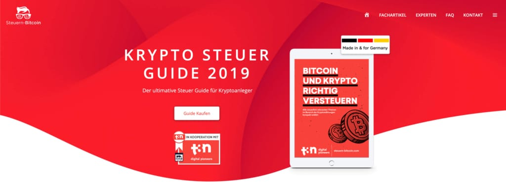 Krypto Steuer Guide