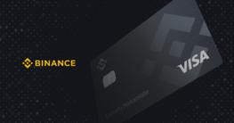 Binance stellt eine eigene Krypto-Kreditkarte von Visa vor