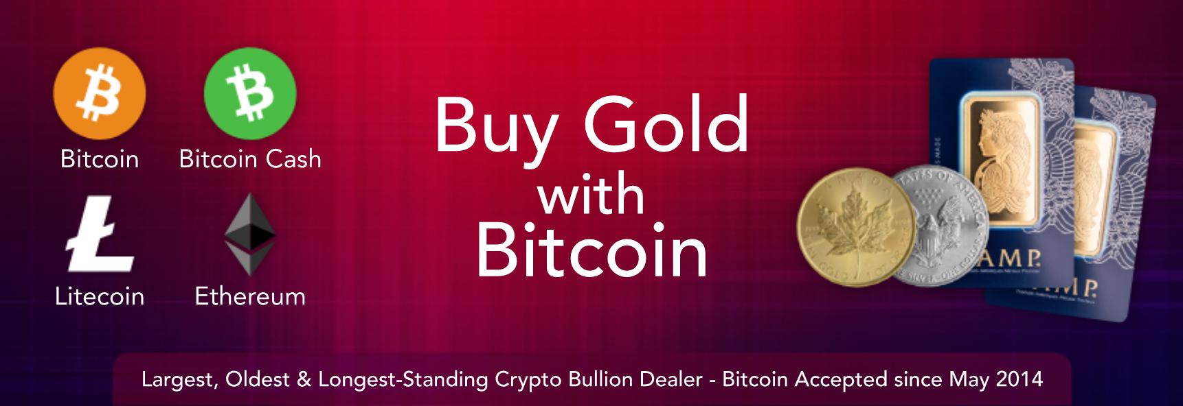 Gold mit Bitcoin bei BullionStar kaufen