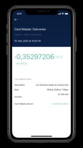 Der erste Einkauf mit der Crypto.com Kreditkarte