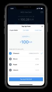 Crypto.com Top Up