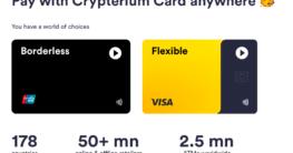 Crypterium führt eigene Visa-Debitkarte ein