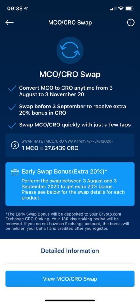 MCO ist tot, lang lebe CRO: Crypto.com stellt eigenen Token ein